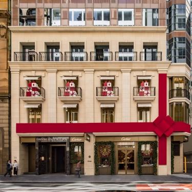 Cartier Sydney Christmas Displays