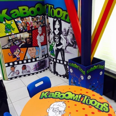 Kaboom Toons Display