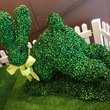 Easter Display - Bunny Topiary