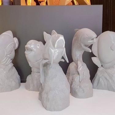 Fish Sculptures for Campaign for Secret Harbour Shopping Centre