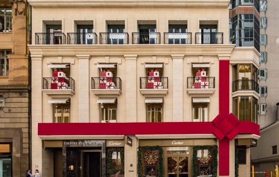 Cartier Sydney Christmas Display