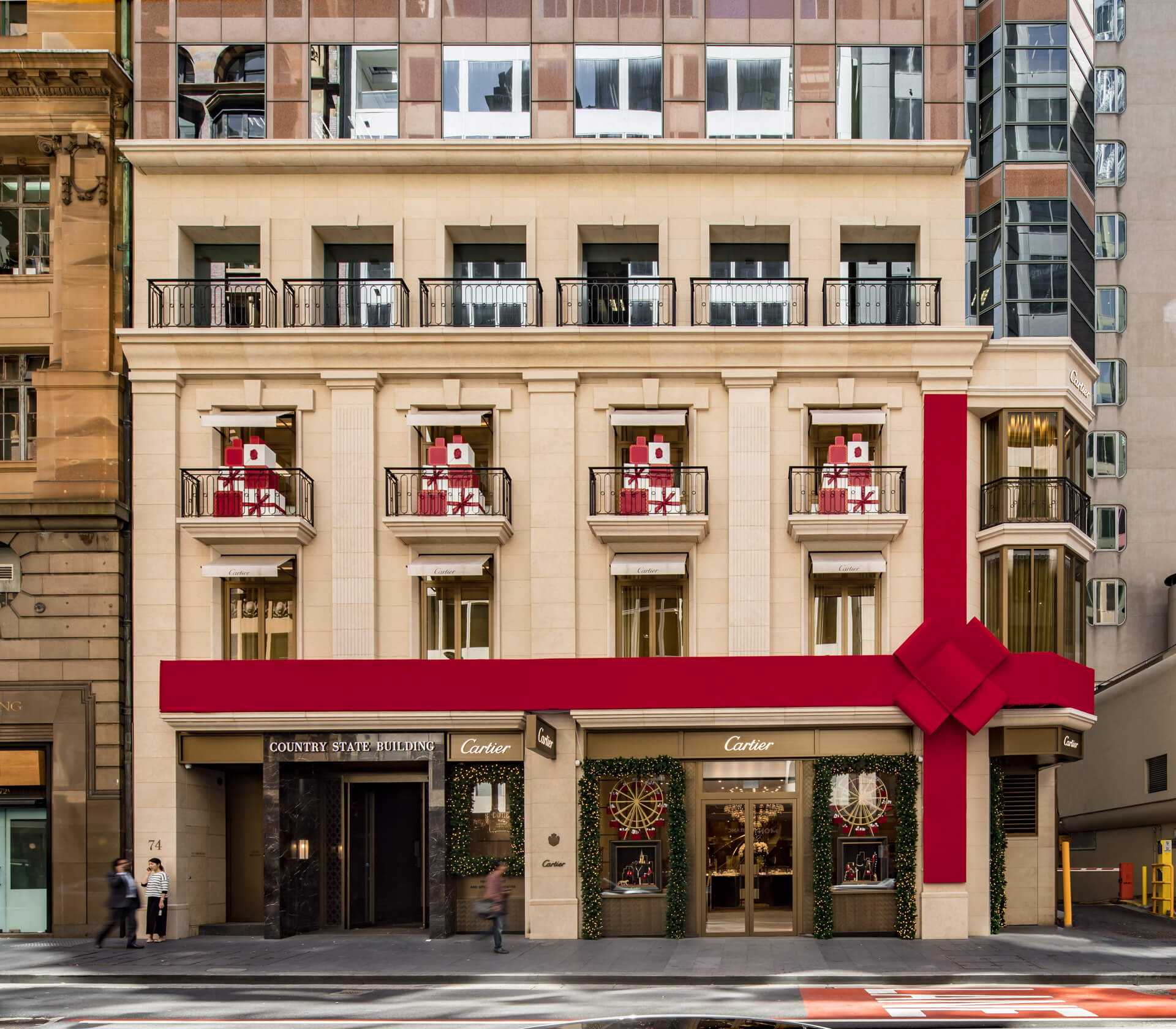 Cartier Sydney Christmas Display