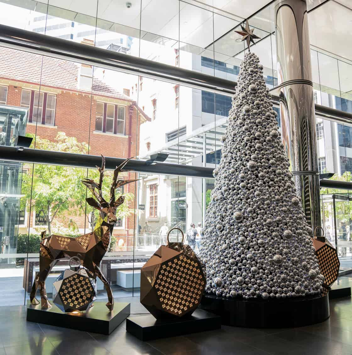 christmas installation, City of Sydney